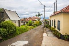 Santana city in Madeira Stock Image