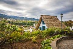 Santana city in Madeira Stock Photography