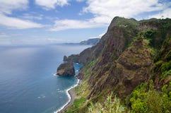 Santana coastline, Madeira Royalty Free Stock Image