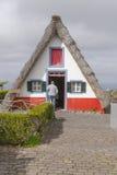 Santana on Madeira Island Royalty Free Stock Photo