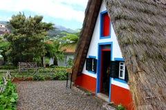 Santana Madeira, Portugal Royaltyfri Fotografi