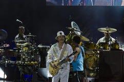 Santana van Carlos Stock Afbeeldingen