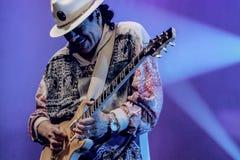 Santana van Carlos stock foto