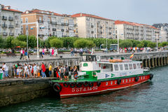 Santander·argine di s Fotografie Stock Libere da Diritti