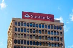 Santander bank Zdjęcie Stock