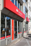 Santander Bank royalty free stock image