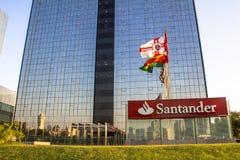Santander Bank building Stock Images