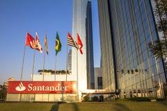 Santander Bank building Royalty Free Stock Images