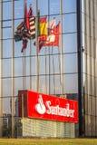 Santander Bank building Royalty Free Stock Photo