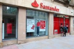Santander Bank Stock Photography