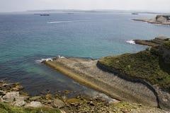 Santander beach, Cantabrian Sea Stock Photos