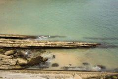 Santander beach, Cantabrian Sea Royalty Free Stock Image
