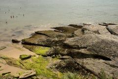 Santander beach, Cantabrian Sea Stock Image