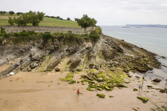Santander beach, Cantabrian Sea Stock Photo