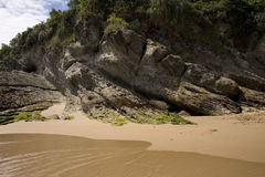 Santander beach, Cantabrian Sea Royalty Free Stock Photo