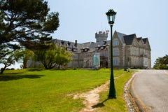 дворец santander cantabria magdalena стоковая фотография rf