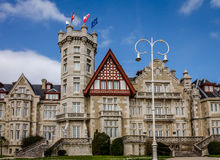 Magdalena Palace in Santander, Cantabria, Spain Stock Photos