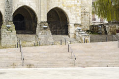 Santander cathedral Stock Images