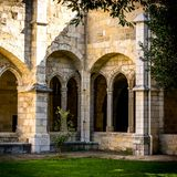 Santander Cathedral, a corner of the cloister Stock Photography