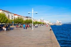 Santander city embankment in Spain Royalty Free Stock Photo