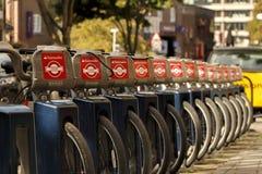Santander cykle Fotografia Stock