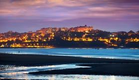 Santander in  evening Stock Photo