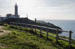 Santander lighthouse Royalty Free Stock Images