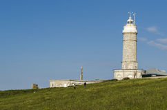 Santander lighthouse Royalty Free Stock Photos