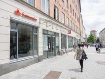 Santander munich Royalty Free Stock Image