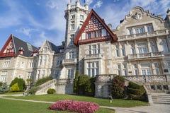 Santander, Palacio de la Magdalena Fotos de archivo