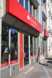 Santander-Querneigung lizenzfreies stockbild