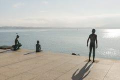 Santander Raqueros-Jungen Stockfotografie