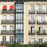Santander, Spain. Architecture Detail in Santander, Spain stock images