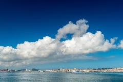 Santander, Spain. Cityscape of sunny Santander, Spain Royalty Free Stock Image
