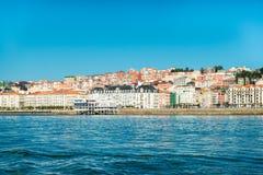 Santander, Spain. Cityscape of sunny Santander, Spain stock photography