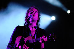 Crystal Fighters performs at Santander Music Festival Royalty Free Stock Photos