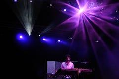 El Guincho band performs at Santander Music Festival Stock Photo