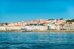 Santander Spanien arkivbild