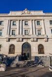 SANTANDER, SPANJE - OKTOBER 31, 2013 Bank van Spanje royalty-vrije stock afbeelding