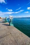 SANTANDER, SPANJE - OKTOBER 15, 2012 Mening van de baai van Santande royalty-vrije stock foto
