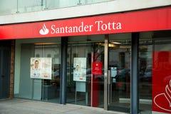 Santander Totta Royalty-vrije Stock Foto's