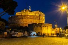 Santangelokasteel Rome lazio stock afbeeldingen