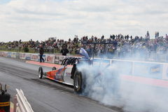 Santapod race course England Royalty Free Stock Images