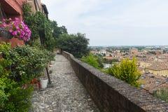 Santarcangelo di Romagna (Rímini, Italia) Fotografía de archivo libre de regalías