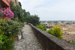 Santarcangelo di Romagna (Rimini, Itália) Fotografia de Stock Royalty Free