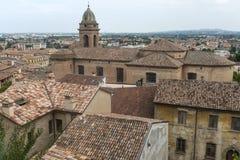 Santarcangelo di Romagna (Rimini, Italien) Stockfotografie