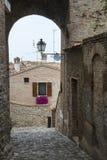 Santarcangelo di Romagna (Rimini, Italy) Royalty Free Stock Photo