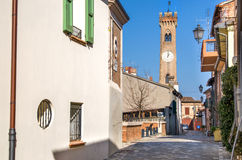 Santarcangelo di Romagna - Rimini - Italy travel Stock Photography