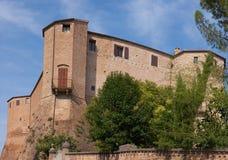 santarcangelo för di malatestiana roccaromagna fotografering för bildbyråer