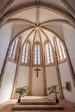 Santarem, Portugal - Igreja de Santa Clara Church Apse royalty free stock photos